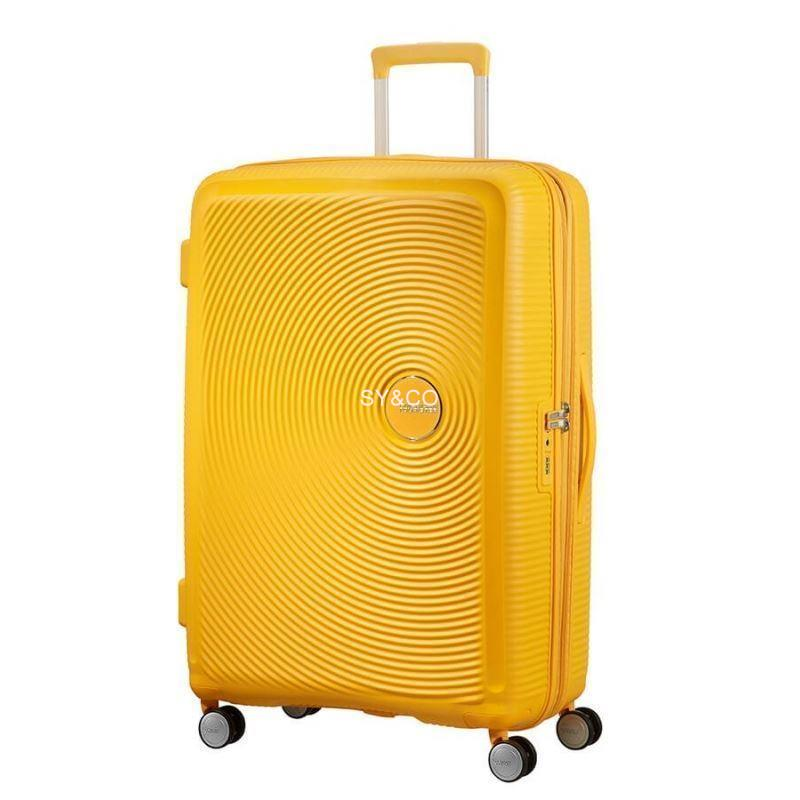 SPINNER AMERICAN TOURISTER SOUNDBOX GOLDEN YELLOW 77cm - Imagen 1