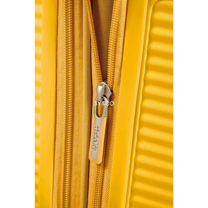 SPINNER AMERICAN TOURISTER SOUNDBOX GOLDEN YELLOW 77cm - Imagen 4