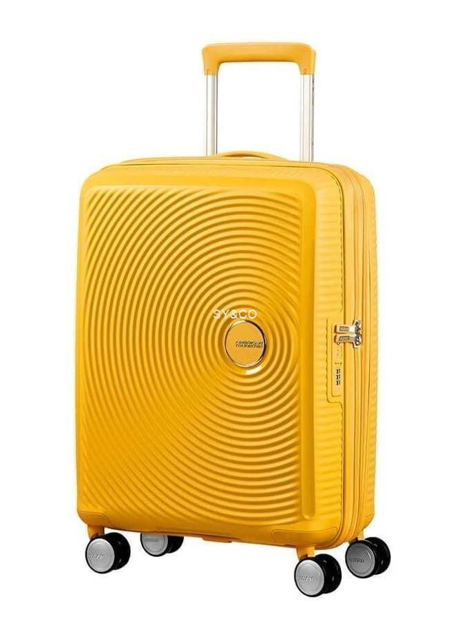 SPINNER AMERICAN TOURISTER SOUNDBOX GOLDEN YELLOW 55cm - Imagen 1