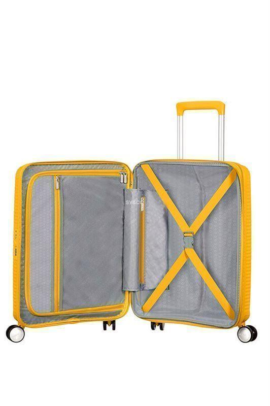 SPINNER AMERICAN TOURISTER SOUNDBOX GOLDEN YELLOW 55cm - Imagen 2